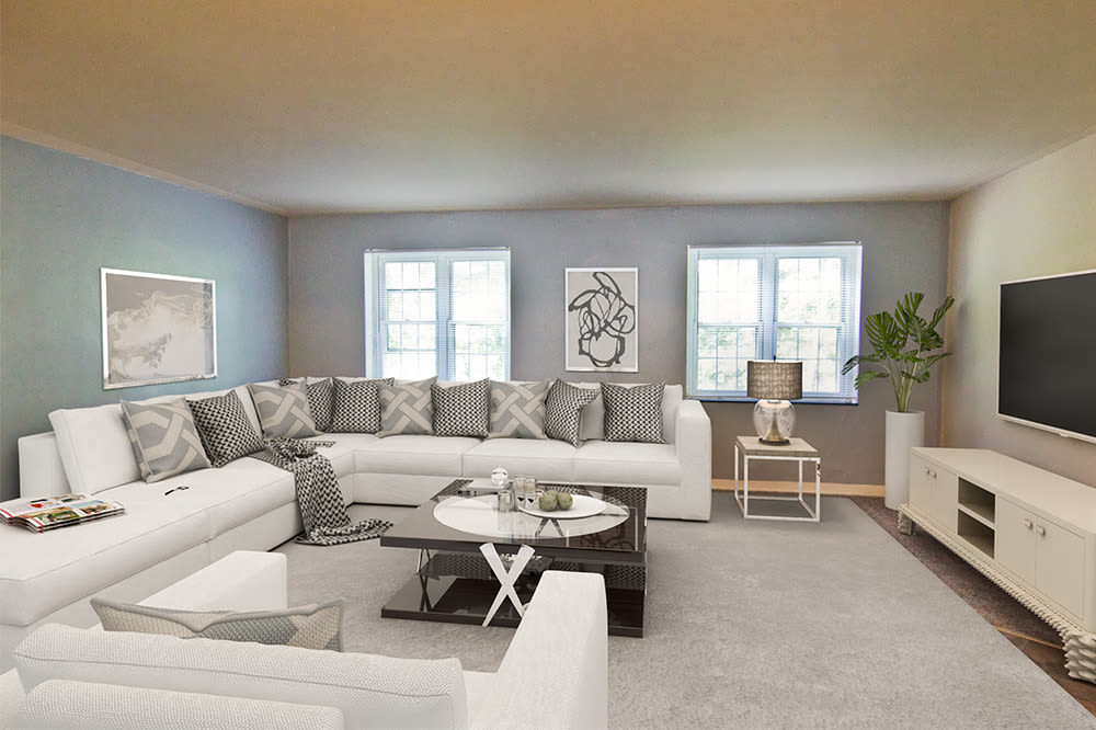 Living room at Governors Ridge in Pittsburgh, Pennsylvania
