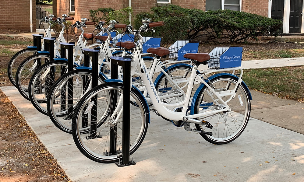 Village Green Apartment Homes offers a free bike share in South River, NJ