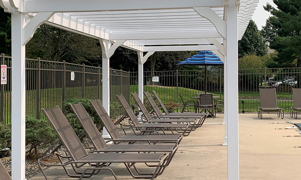 Sundeck at Cranbury Crossing Apartment Homes in East Brunswick, New Jersey