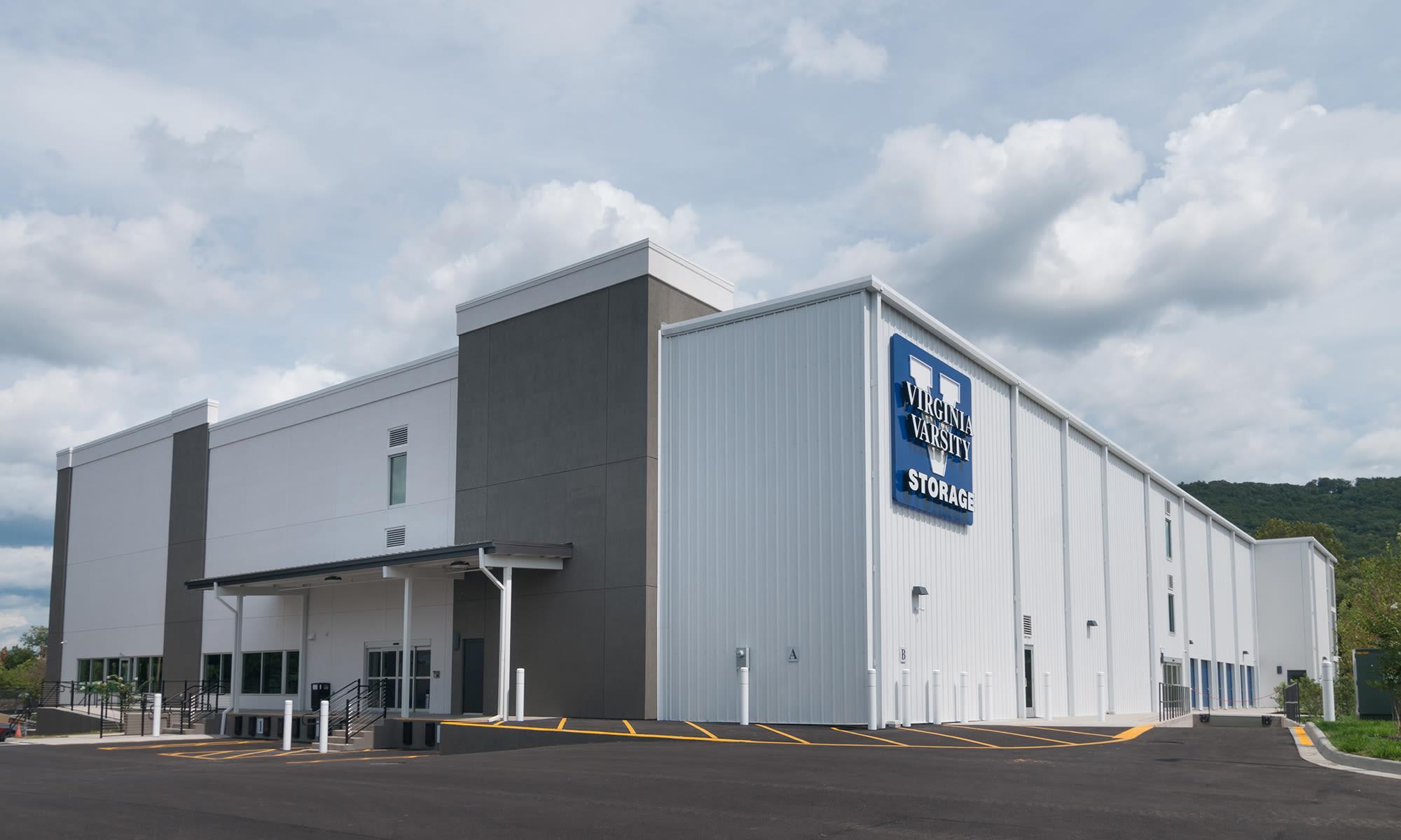 Loading Dock Options at Virginia Varsity Self Storage in Roanoke, Virginia
