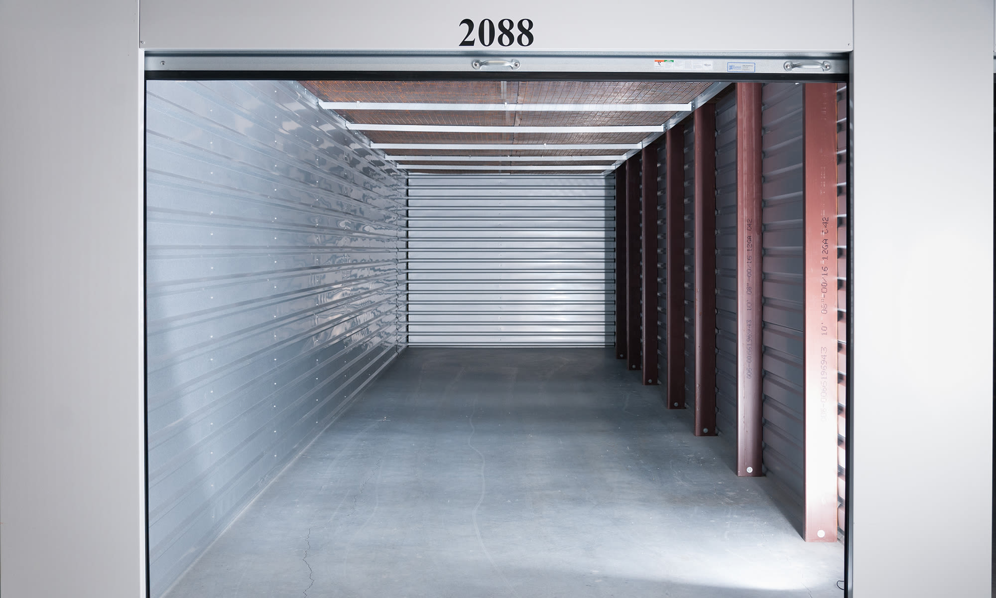 Extra Large Units at Virginia Varsity Self Storage in Roanoke, Virginia is located