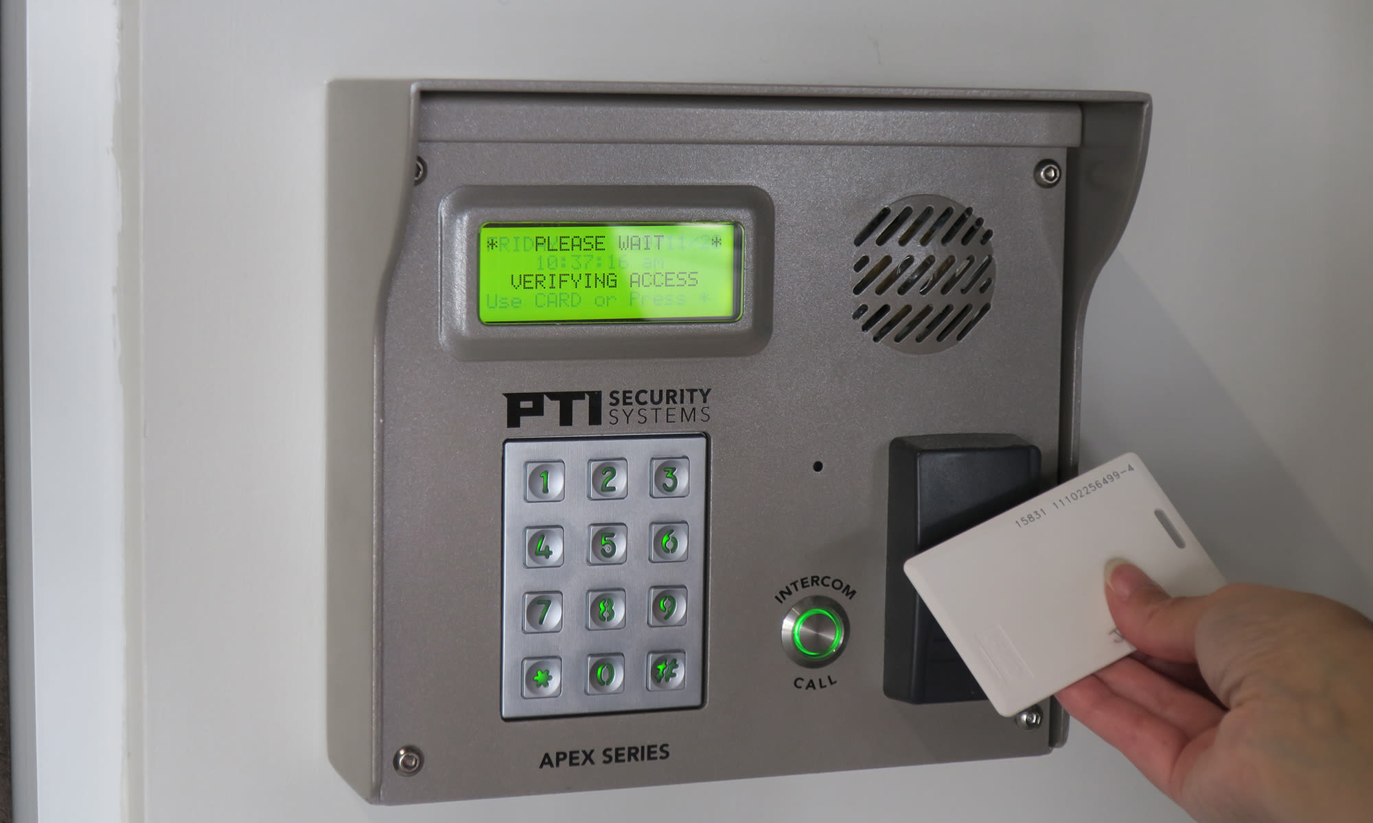 Individualized Access Code and FOB at Virginia Varsity Self Storage in Roanoke, Virginia