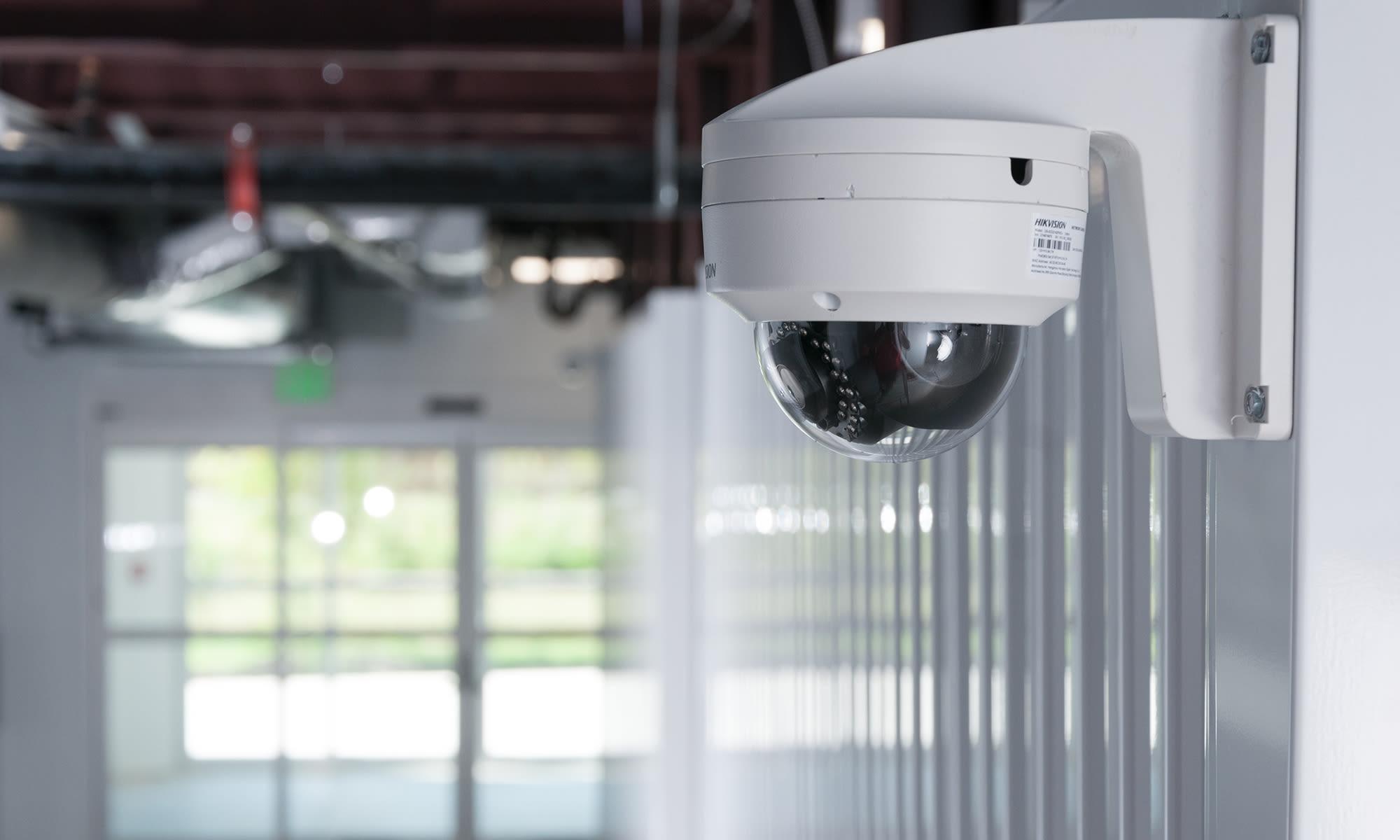 Security Camera System at Virginia Varsity Self Storage in Roanoke, Virginia