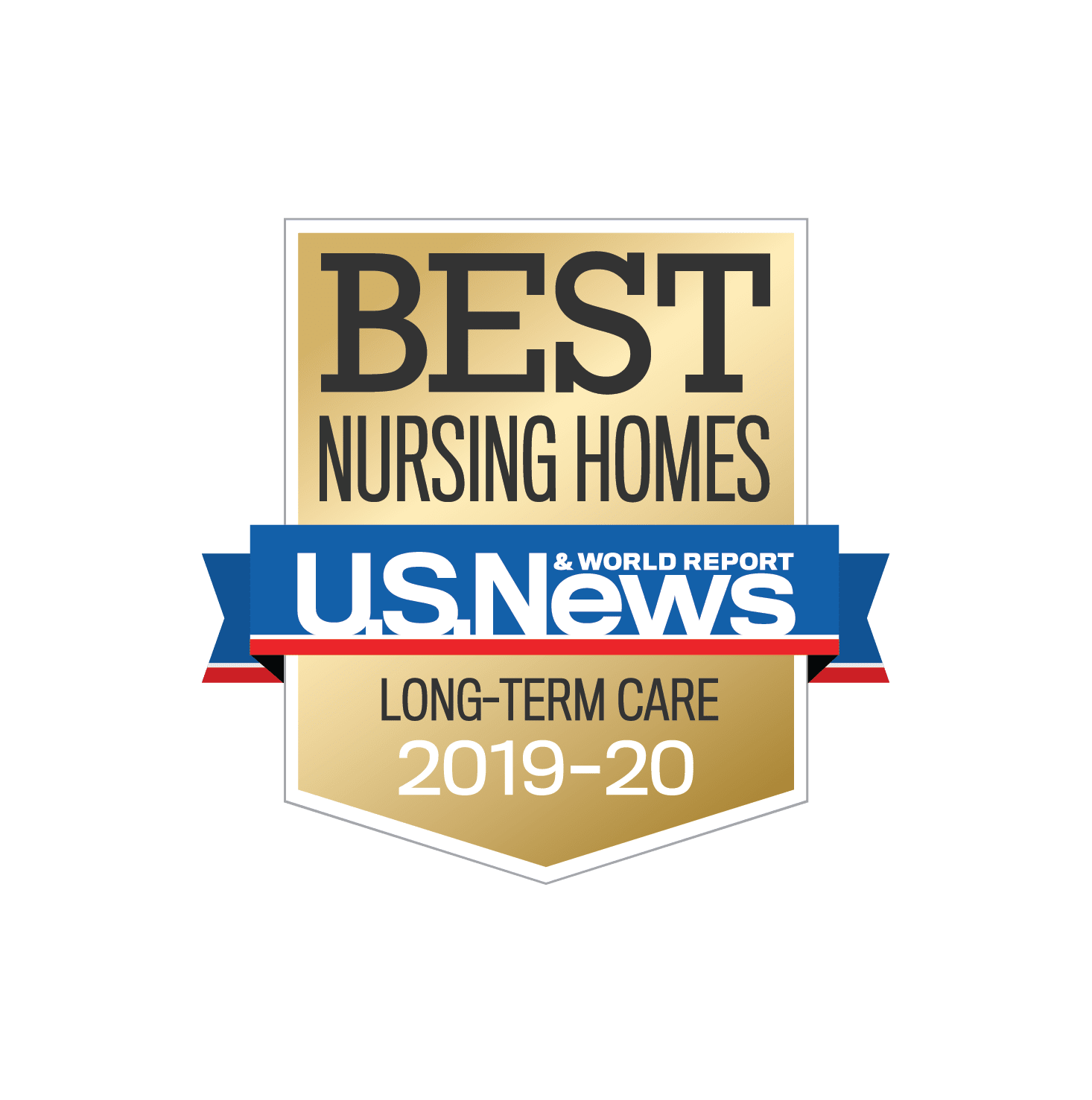 U.S. News and World Report Long Term Care badge