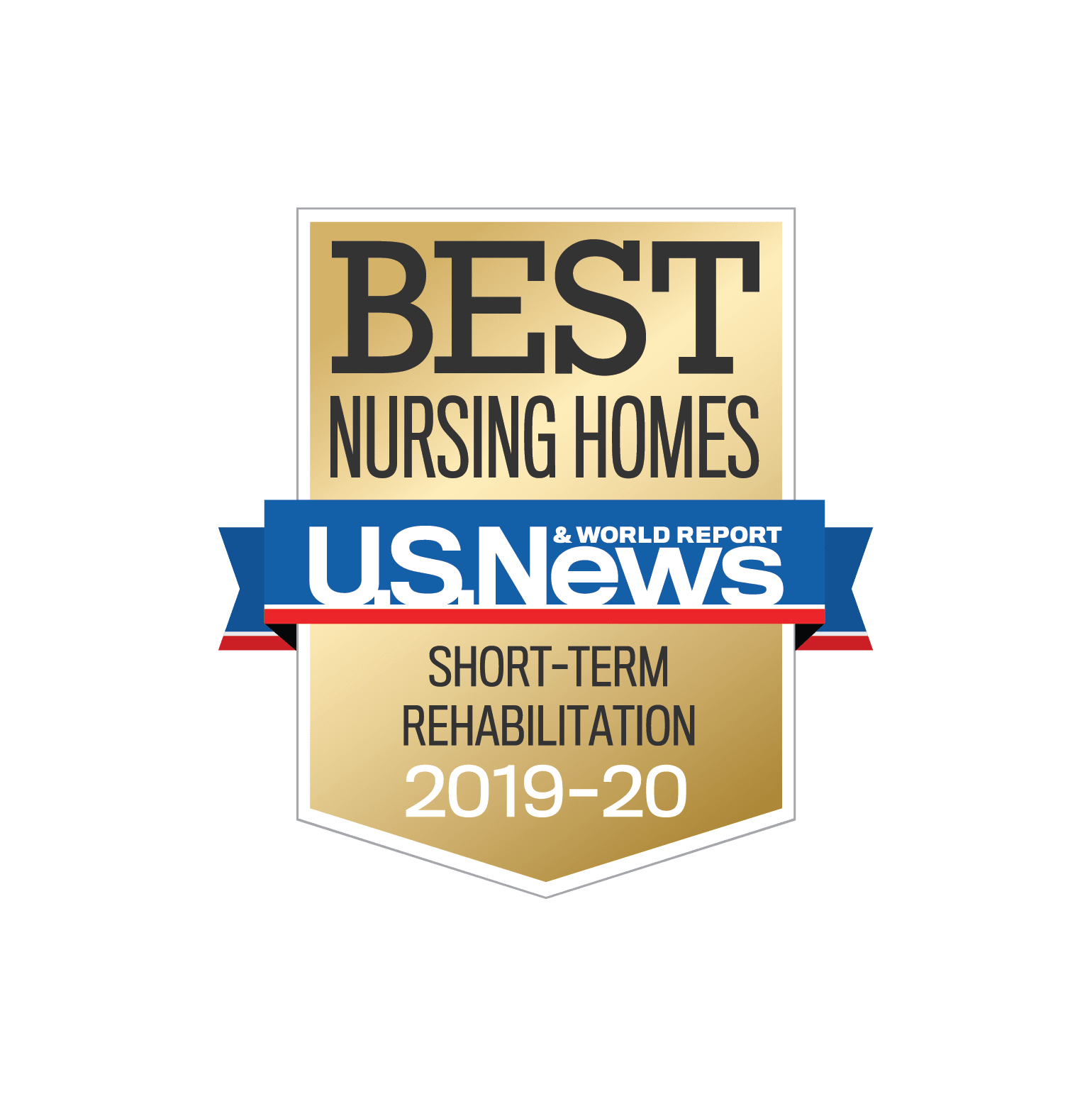 U.S.News and World Report Short-Term Rehab Badge