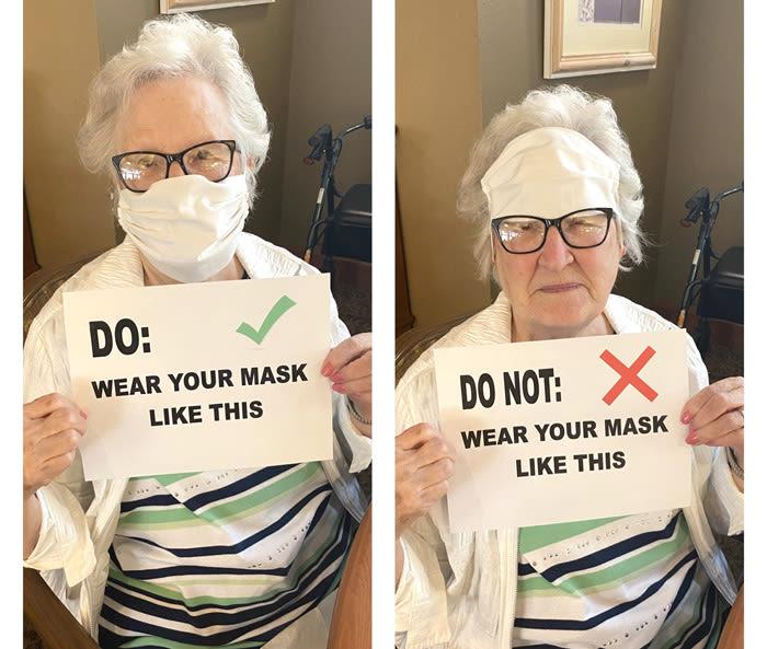 health safety precautions at Moran Vista