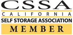 Acorn Self Storage in Pittsburg, California, is a California Self Storage Association member