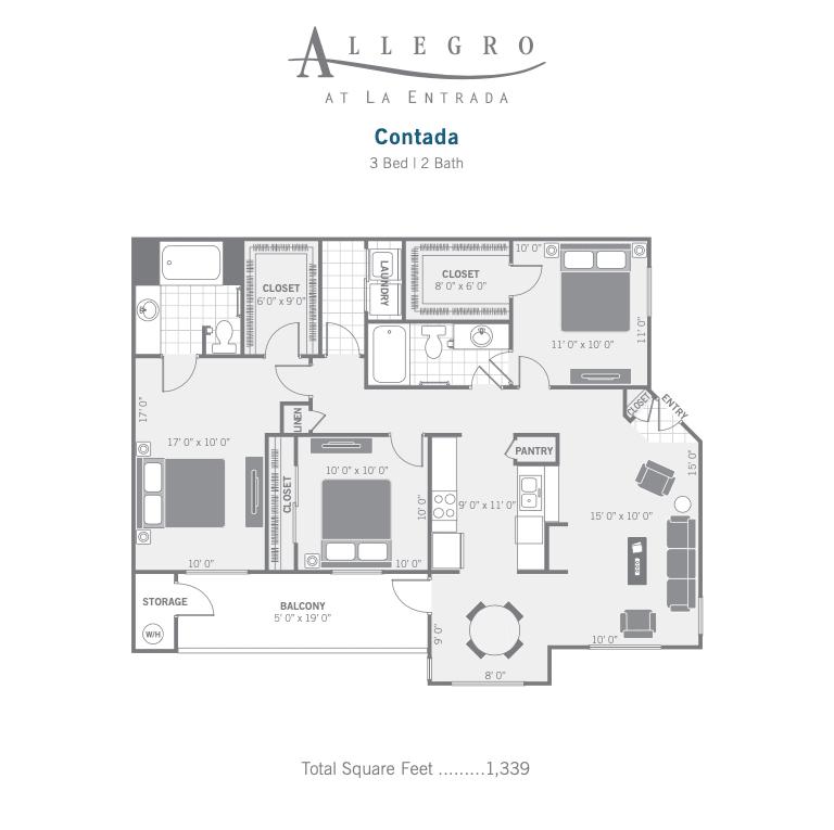 c1 Contada 2D floor plan image