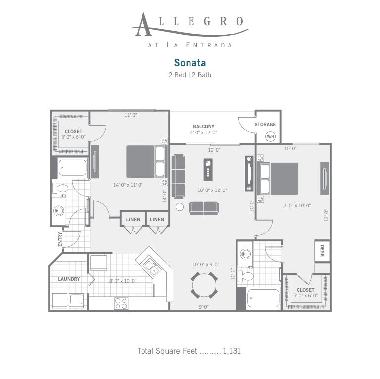 B1 Sonata 2d Floor plan image