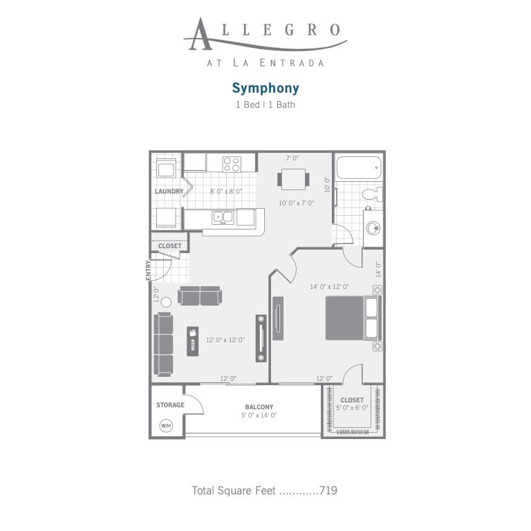 A1 Symphony 2D floor plan image