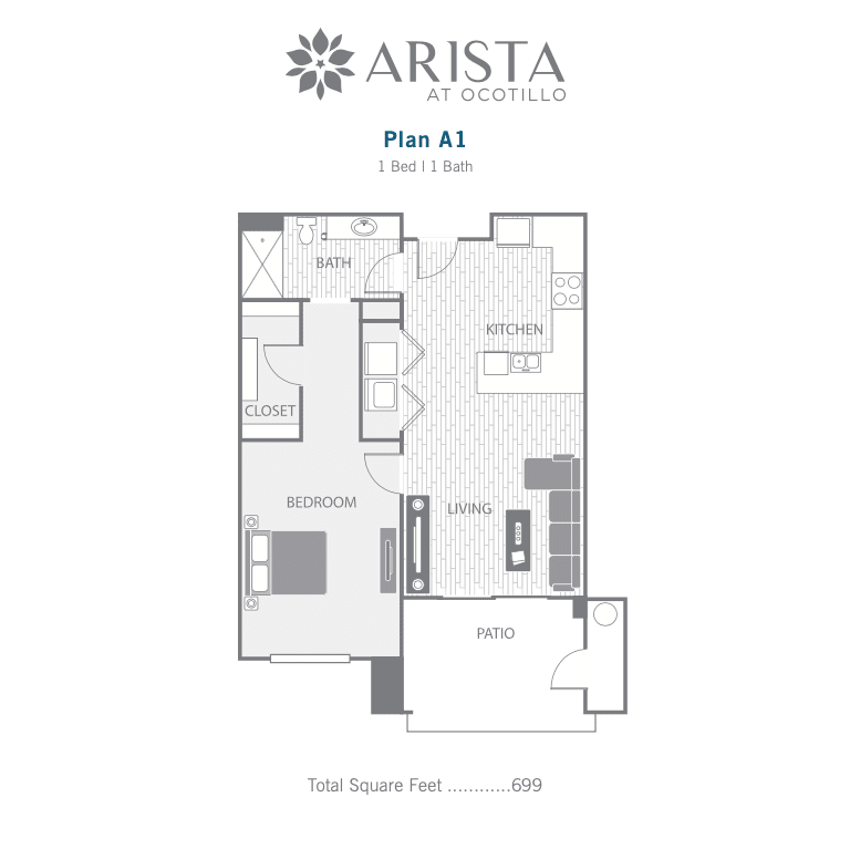A1 2D floor plan image