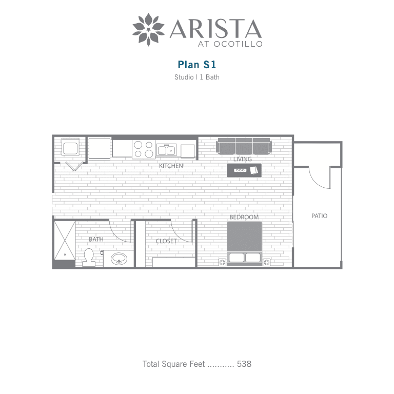 S1 2D floor plan image