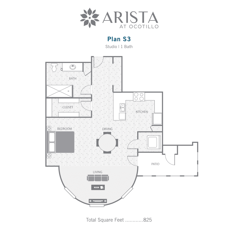 S3 2d floor plan image