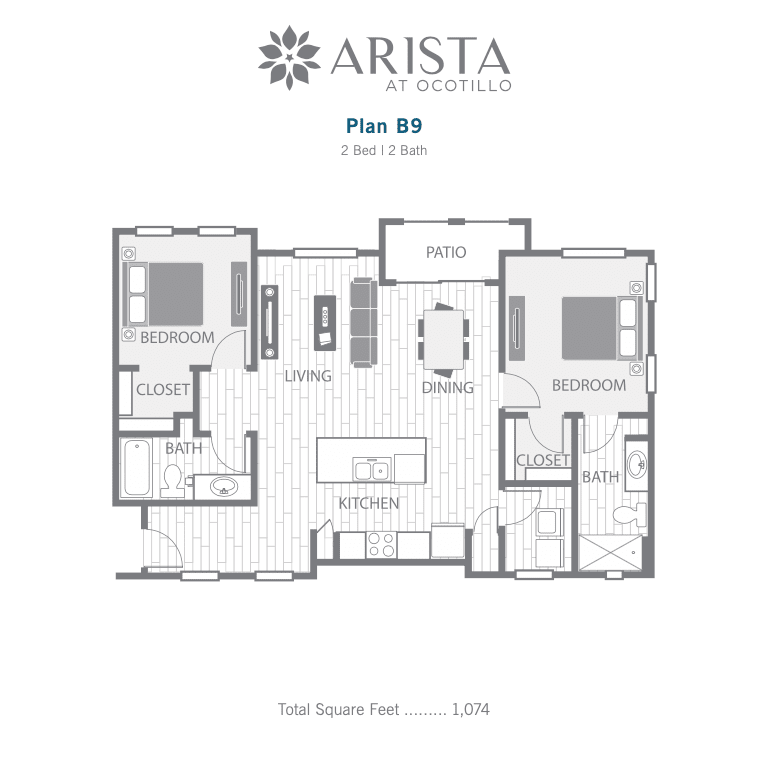 B9 2d floor plan image