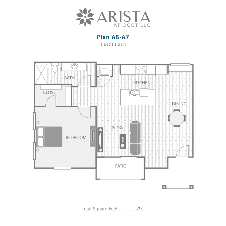 A6 and A7 2D floor plan image