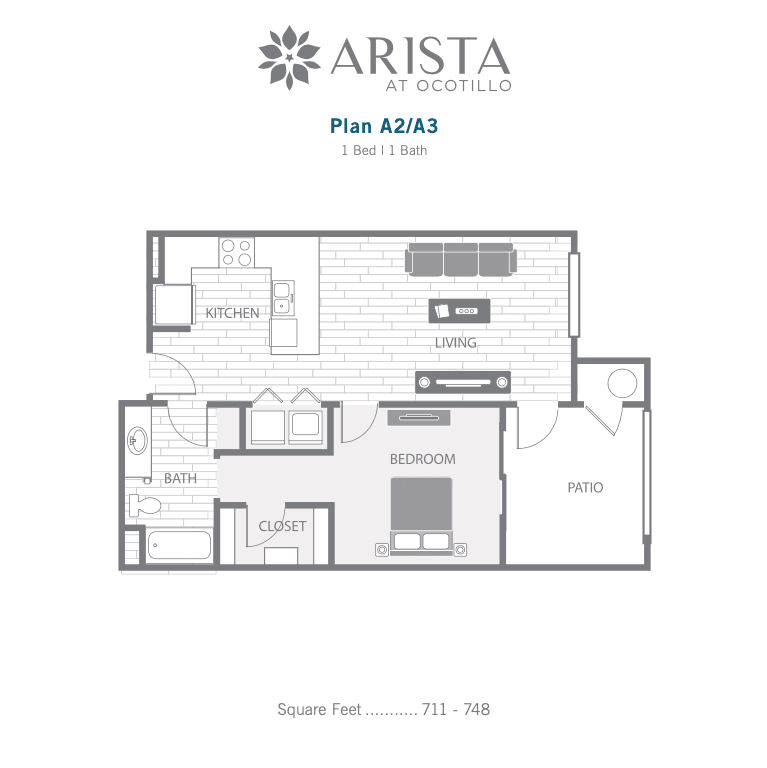 A2 and A3 2D floor plan image