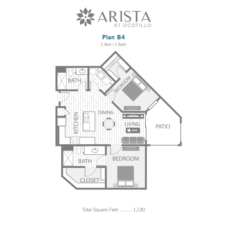 B4 2D floor plan image