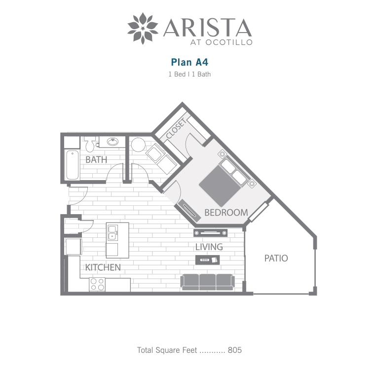 A4 2D floor plan image