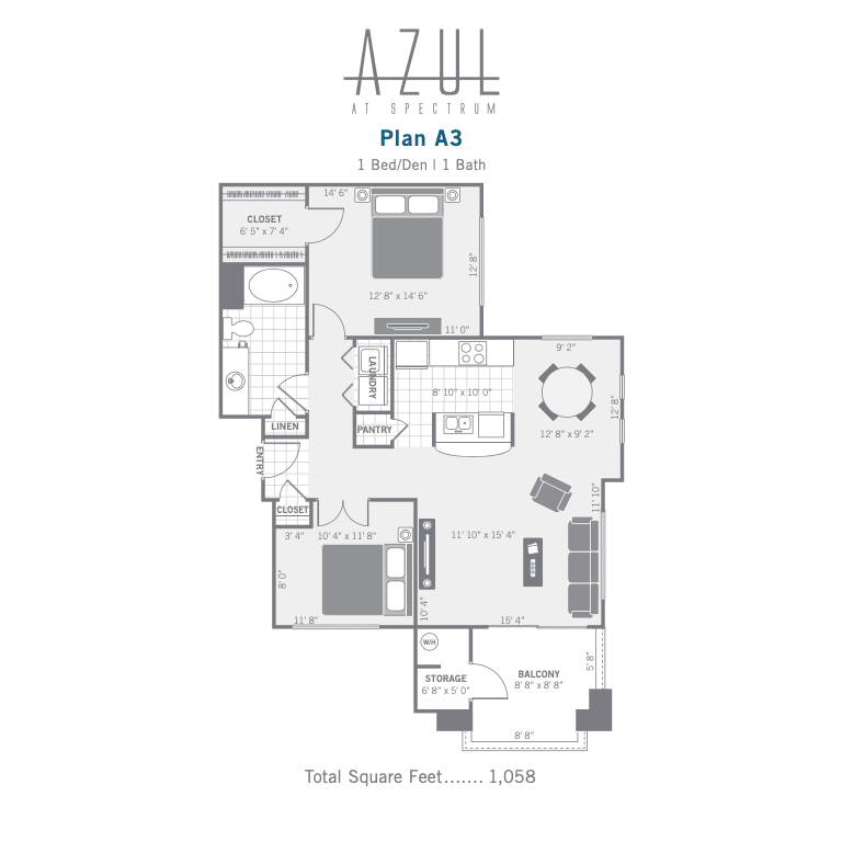A3 2D floor plan image