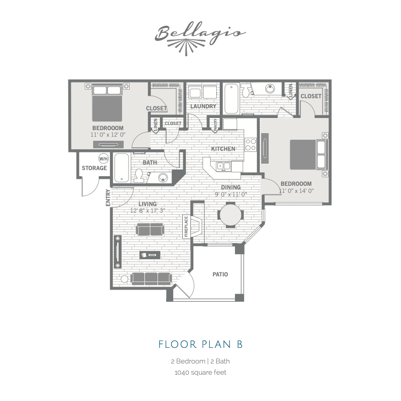 B floor plan image