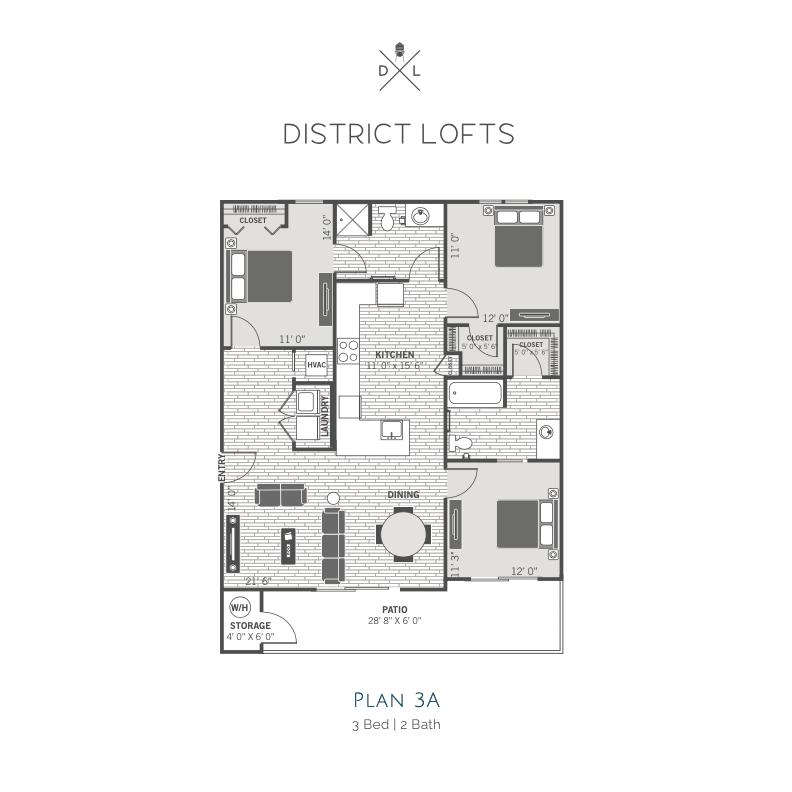 3A floor plan image