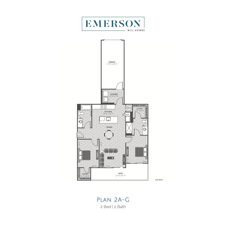 2A-G 2d floor plan