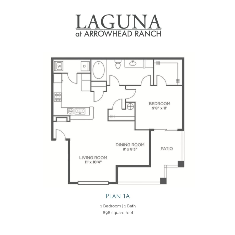 1A 2D floor plan image