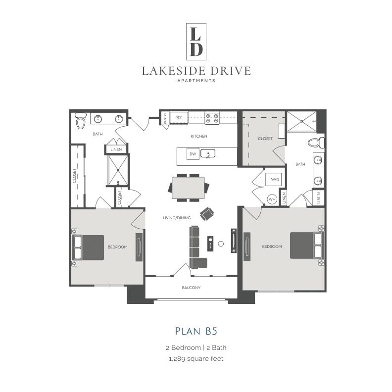 B5 2d floor plan