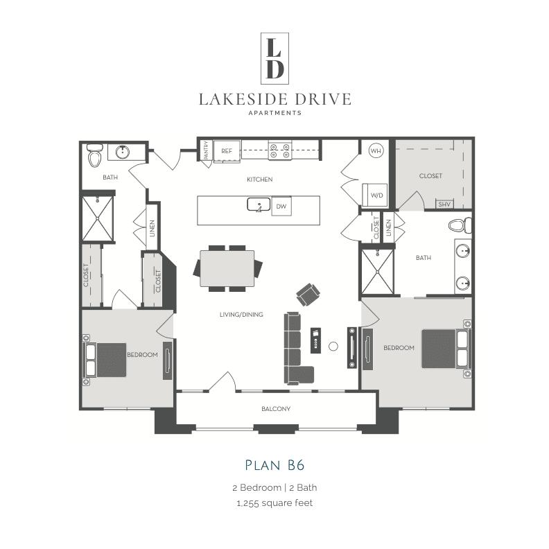 B6 2d floor plan