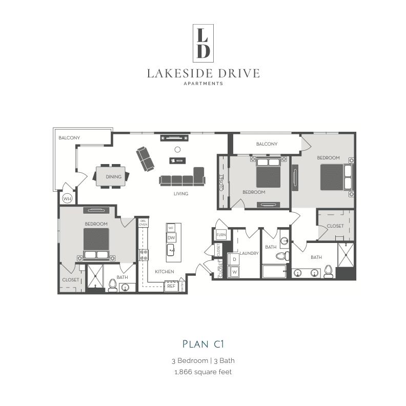 C1 wd floor plan