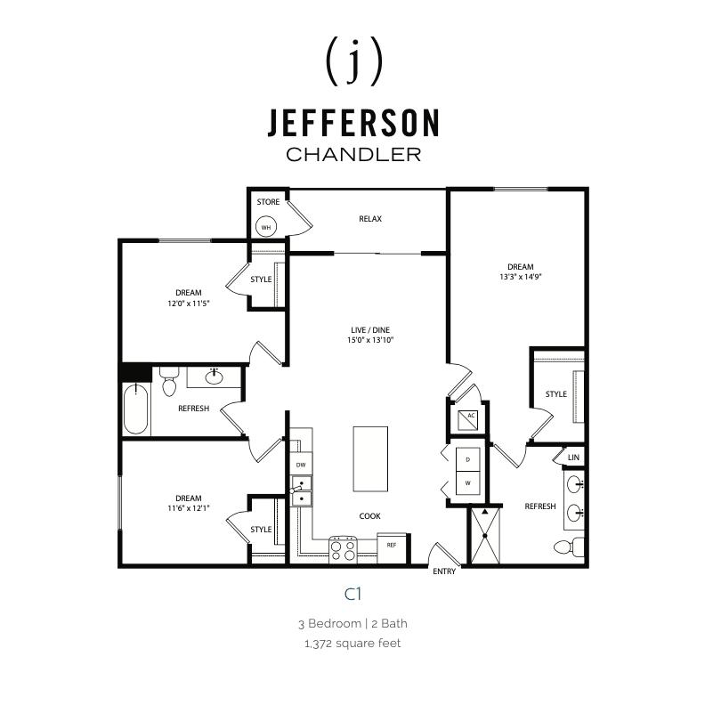 Ca 2d floor plan
