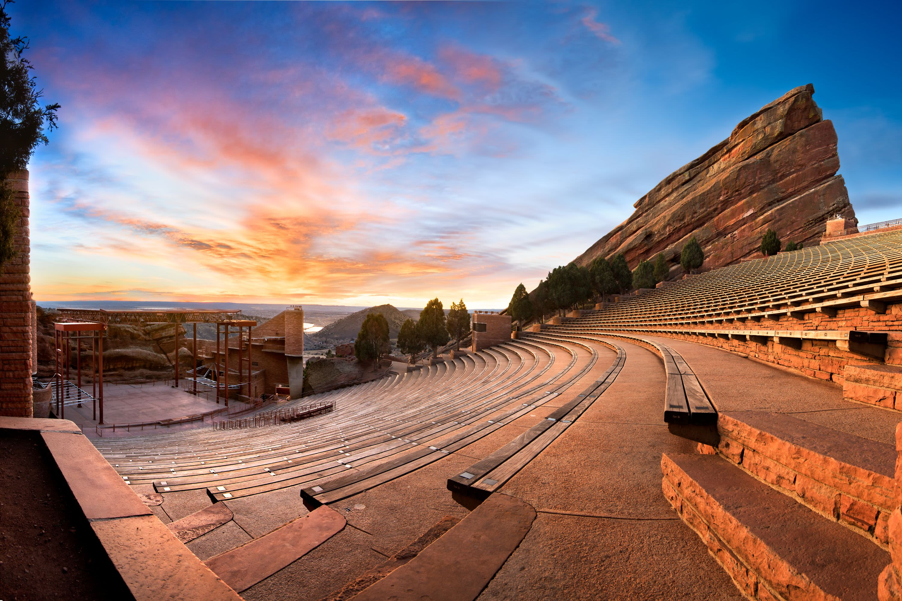 View of Red Rocks near The Wesley in Denver, Colorado