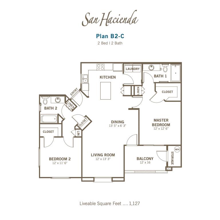Plan B2-C 2d floor plan