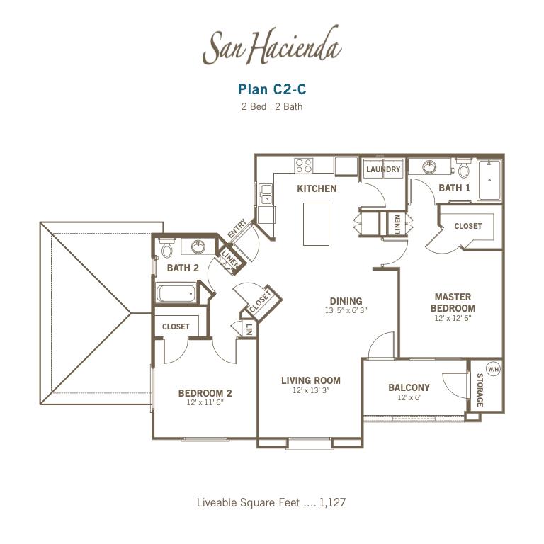 C2-C 2d floor plan