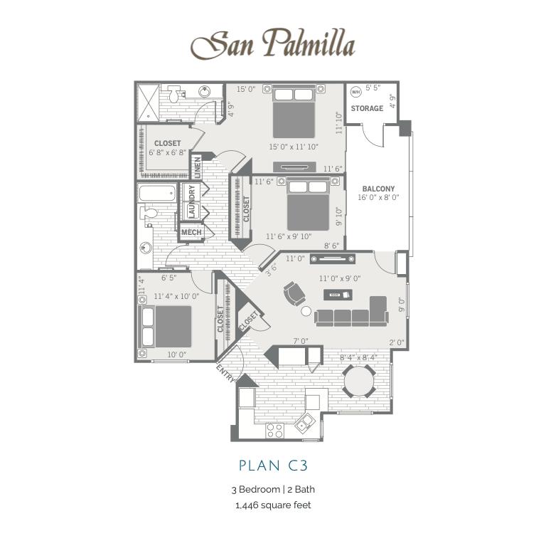 C3 2d floor plan