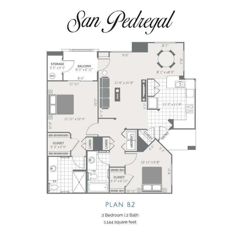 B2 2d floor plan