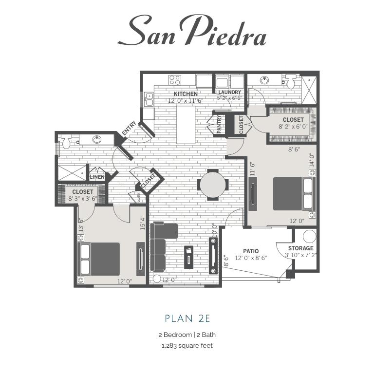 2E 2D floor plan