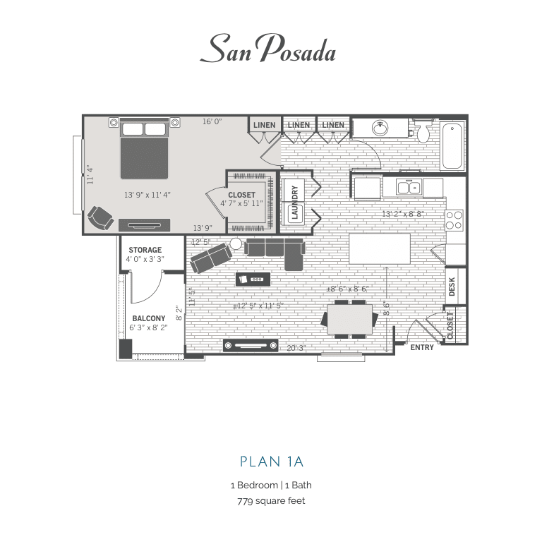 1A2D floor plan Image