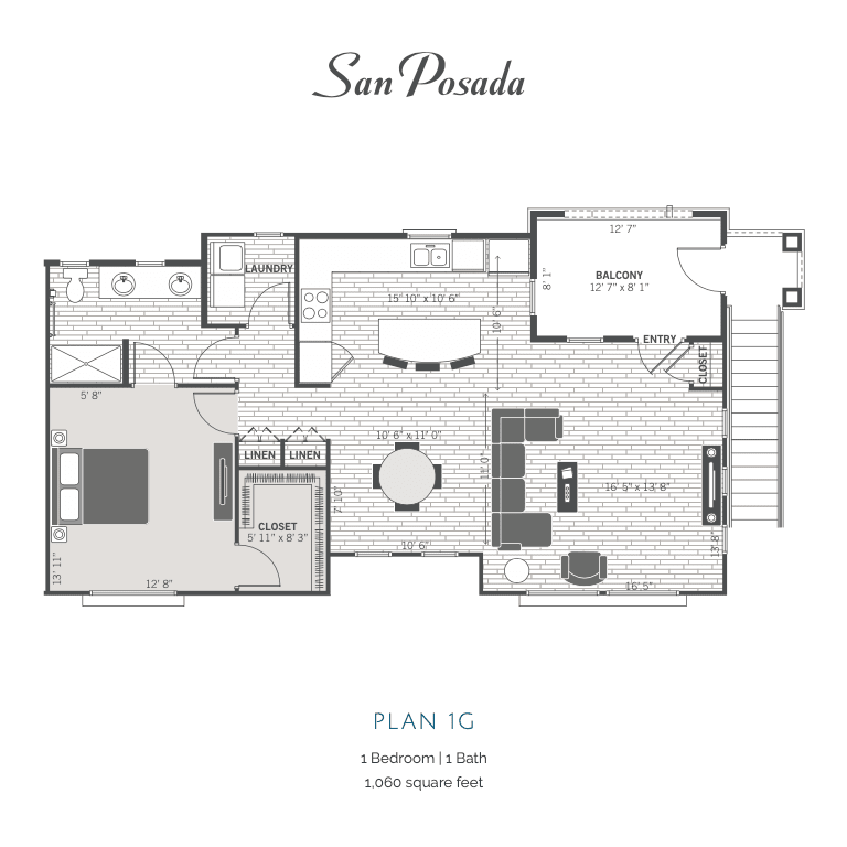 1G 2D floor plan image