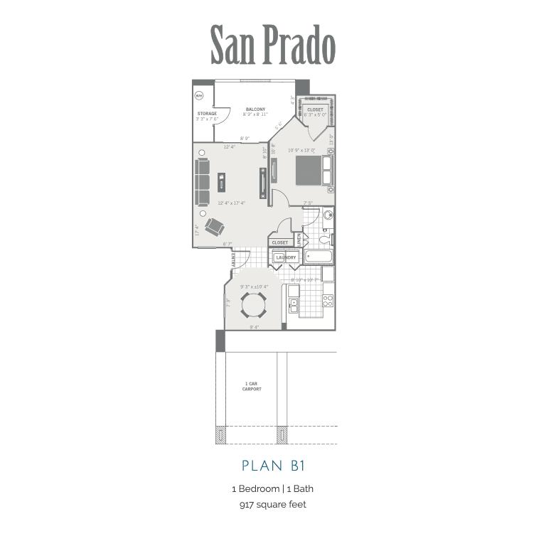 B1 2D floor plan Image