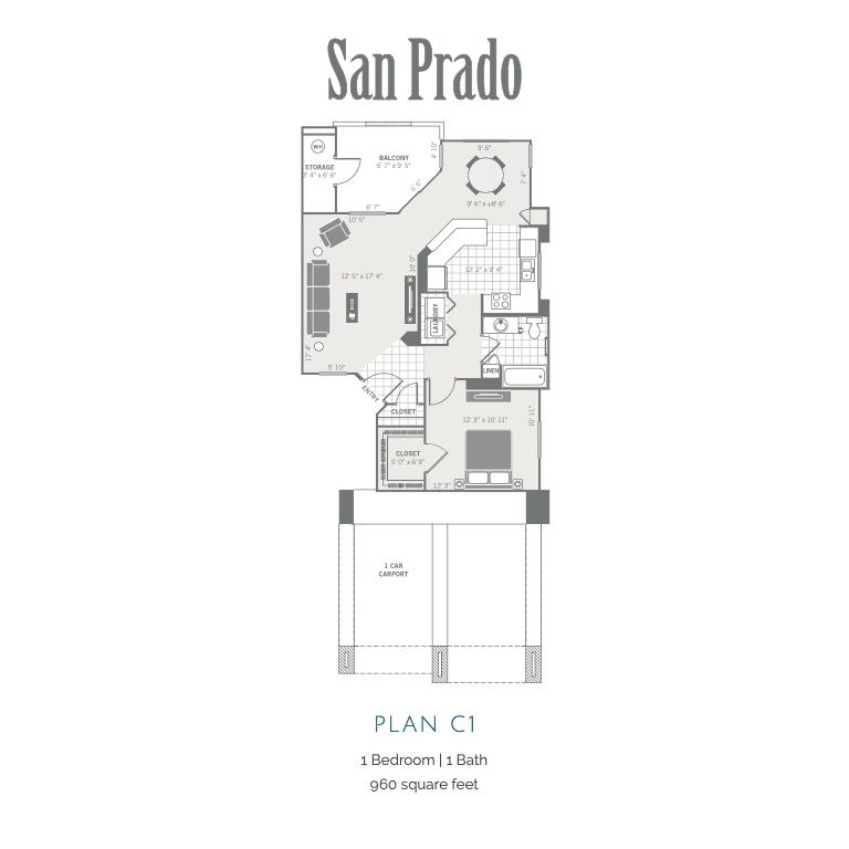 C1 2D floor plan image