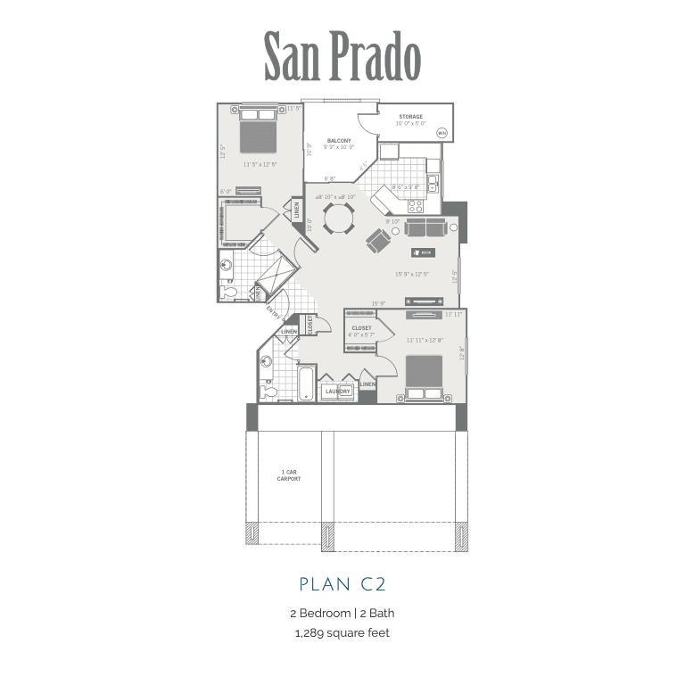 C2 2d floor plan