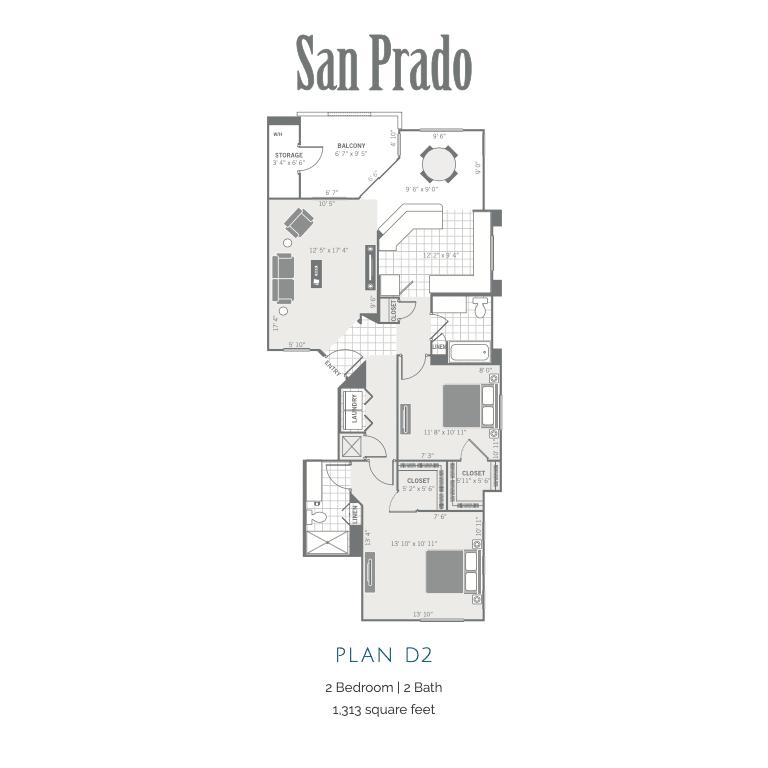 D2 2d floor plan