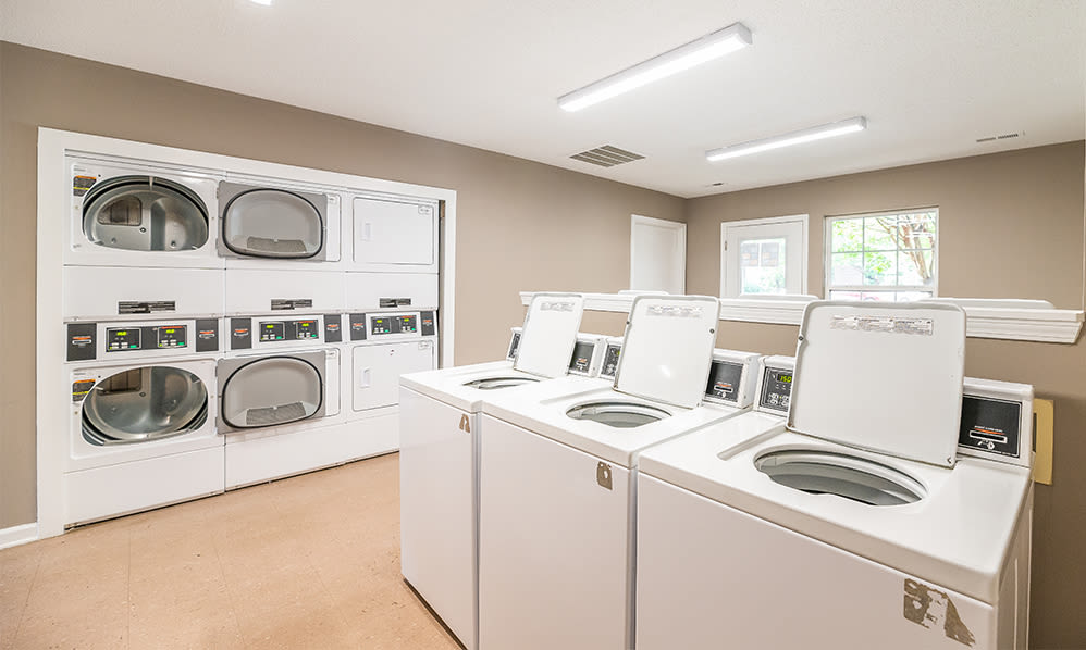 Laundry at Sharon Pointe Apartment Homes in Charlotte, North Carolina