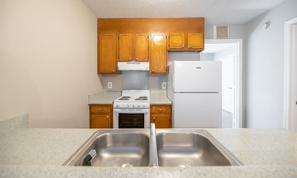 Kitchen at Wexford Apartment Homes in Charlotte, North Carolina