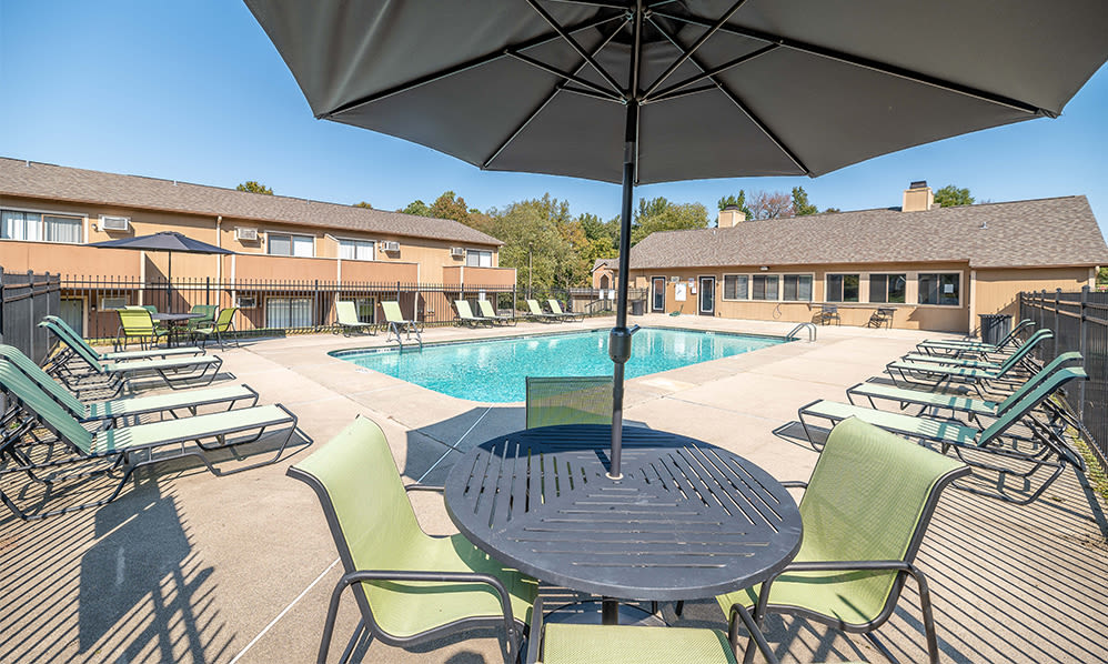 Swimming pool at Wexford Apartment Homes in Charlotte, North Carolina