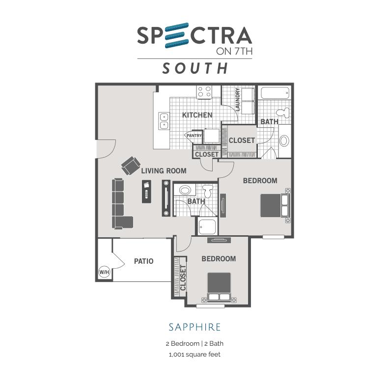 Sapphire 2d floor plan