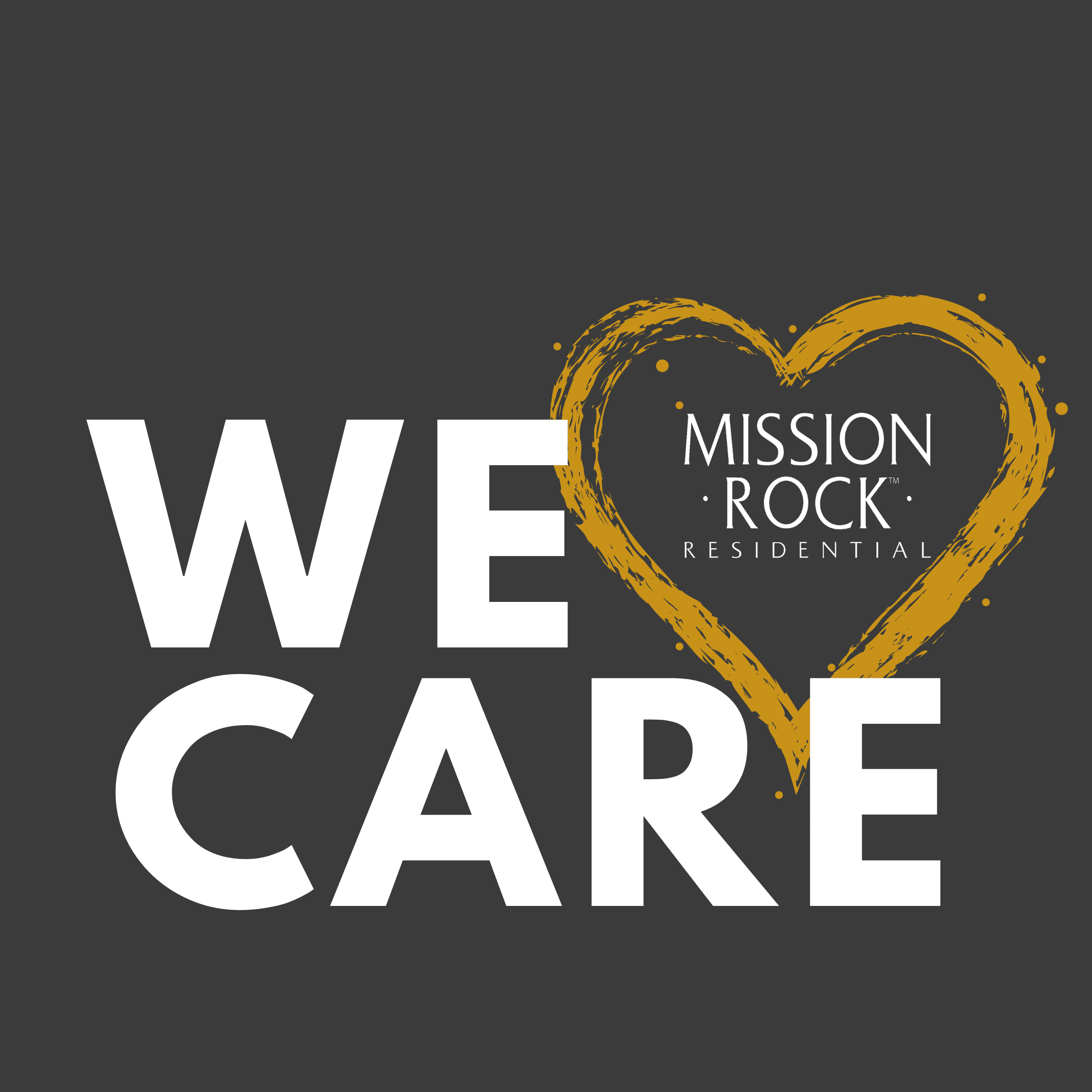 Mission Rock' We Care Commitment with your Safety in Mind.