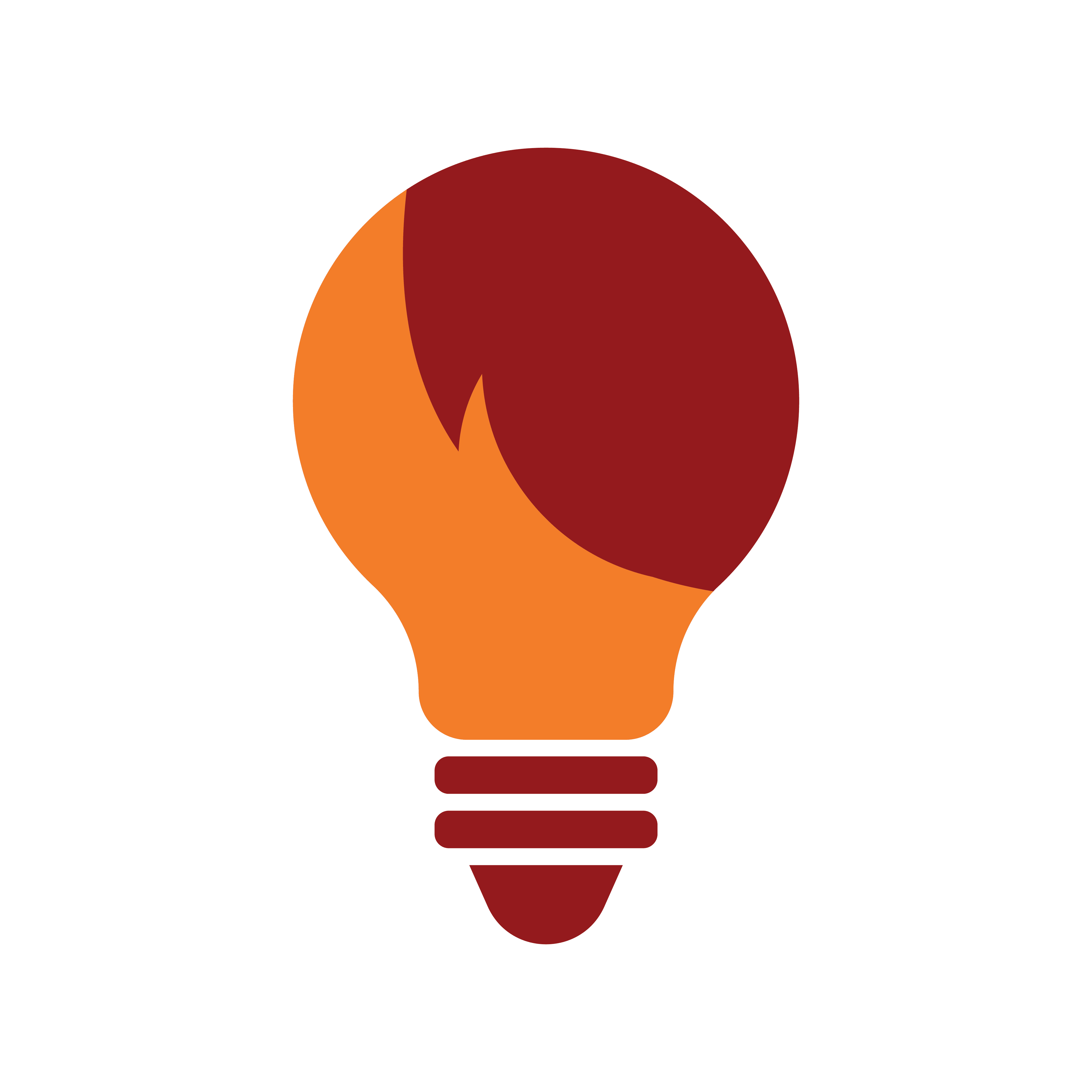 think more lightbulb graphic