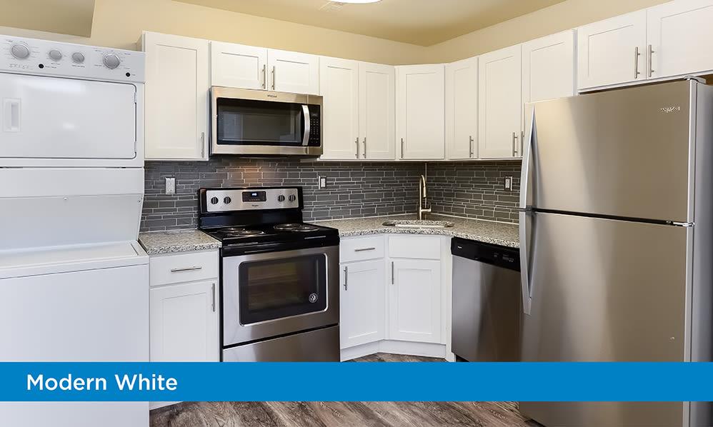 Kitchen at Lumberton Apartment Homes in Lumberton, New Jersey